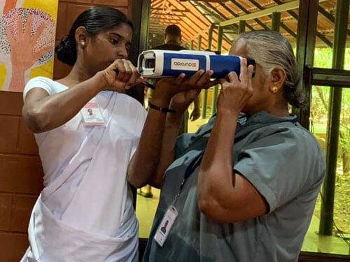 Eye Cataract and Diabetic Screening