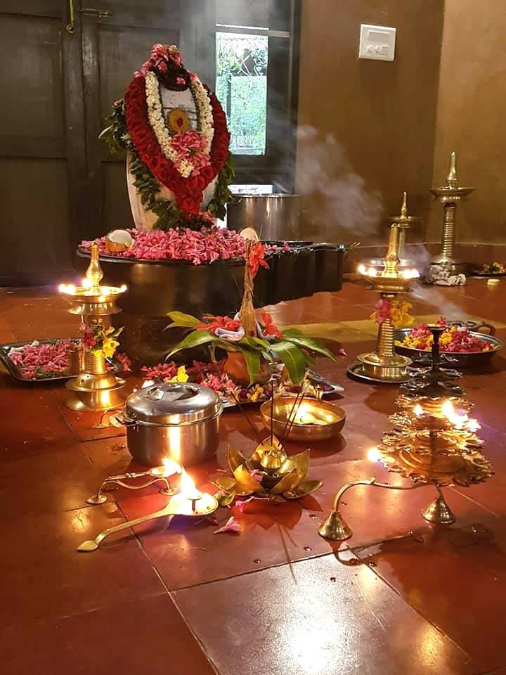 Lord Shiva celebration at Vaidyagrama
